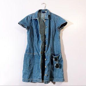 Denim Basics | Vintage Denim Pixie Dress